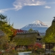 Mount Fuji from Iyashi no Sato Village